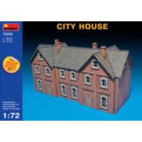 Miniart 1/72 Ölçek Plastik Maket, Şehir Evi, Renkli Kit