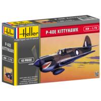 P-40E Kittyhawk, Heller 1/72 Ölçek Plastik Maket Kiti