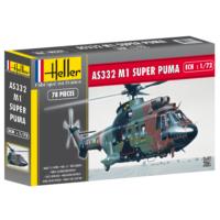 Super Puma As 332 M1, Heller 1/72 Ölçek Plastik Maket Kiti