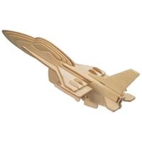 İdeal 3D Ahşap Maket F16 Uçak