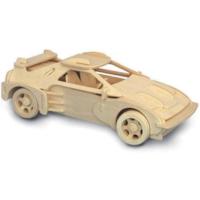 İdeal 3D Büyük Ahşap Maket F20 Araç