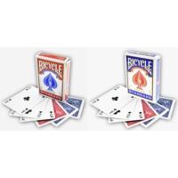 Bicycle Standart Poker İskambil Oyun Kağıdı (4 Tarafı Yazılı Oyun Kartı 2 Paket)