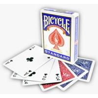 Bicycle Standart Poker İskambil Oyun Kağıdı (4 Tarafı Yazılı Oyun Kartı Mavi)