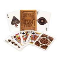Bicycle Steampunk Oyun Kartı Destesi (Koleksiyonluk Oyun Kağıdı)