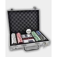 Pusula Oyun Poker Seti 200 Adet Chip (Alüminyum Çantalı 200'Lük Poker Fişi) Avrupa'Dan İthal