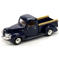 Motor Max 1:24 1940 Ford Pickup Lacivert Model Araba