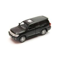Vardem Sesli ve Işıklı 1:32 Toyota Land Cruiser Çek Bırak Araba (Siyah)