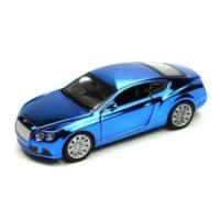 Vardem Işıklı ve Sesli 1:32 Bently Çek Bırak Araba (Metalik Mavi)