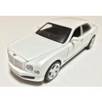 Vardem Bentley 1:32 Beyaz Çek Bırak Metal Araba (Sesli Işıklı)