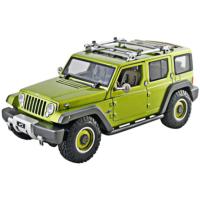 Maisto 1/18 Jeep Rescue Concept P/E Model Araba Yeşil
