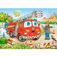 Castorland 35 Parça Midi Puzzle (İtfaiye Ekibi)