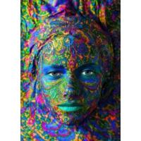 Grafika 1000 Parça Puzzle - Yüz Sanatı: Kadın Portresi