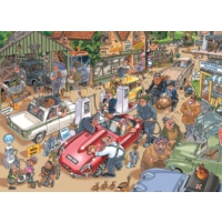 Jumbo 1000 Parça Bedel Ödemek (Wasgij Destiny 17 Puzzle)