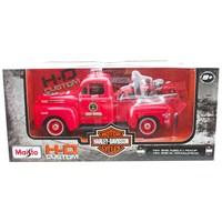 Maisto 1:27 1948 Ford F-1 Pick-Up 1936 El Knucklehead Model Araba