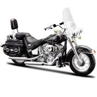 Maisto Harley Davidson 2002 Flstc Heritage 1:18 Model Motorsiklet