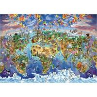 Art Puzzle Büyüleyici Dünya 2000 Parça Puzzle