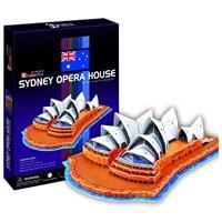 Cubic Fun Puzzle Sydney Opera House (3 Boyutlu)
