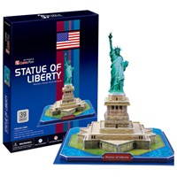 Cubic Fun Puzzle State Of Liberty (3 Boyutlu)