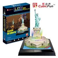 Cubic Fun Puzzle State Of Liberty (3 Boyutlu)