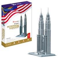 Cubic Fun Puzzle Petronas Towers (3 Boyutlu)