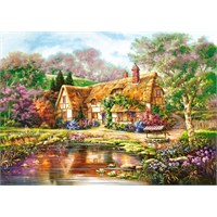Castorland 3000 Parça Puzzle - Twilight At Woodgreen Pond