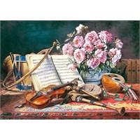 Castorland 1500 Parça Müzikal Natürmort (A Musical Still Life)