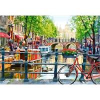 1000 Parça Castorland Puzzle, Amsterdam Peyzaj
