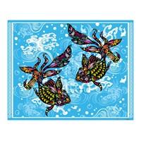 Pintoo Parlak Süs Balığı Plastik Puzzle 500 Parça
