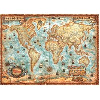 Heye Puzzle The World (3000 Parça)