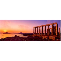 Heye Puzzle Poseidon Temple (2000 Parça;Panorama)