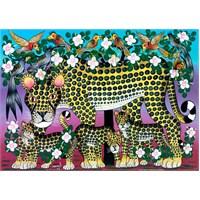 Heye Puzzle Cranes, Wildcat Family (1000 Parça)
