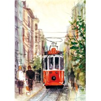 Puzz Puzzle İstiklal Caddesi,Tramvay (1000 Parça)