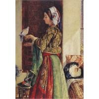 Perre Puzzle Kız Ve Güvercinler / Girl With Two Caged Doves (500 Parça)