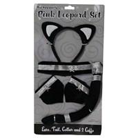 Pandoli Kedi Kız Kostüm Aksesuar Seti