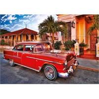 Trefl Puzzle 1000 Parça Chevrolet Bel Air Küba