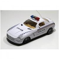 Vardem Kutulu Uzaktan Kumandalı Full Fonksiyon Polis Arabası 1:18 Ölçek