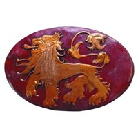 Dark Horse Game Of Thrones Shield Pin Lannister