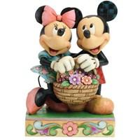 Disney Traditions Enesco Love In Bloom Basket