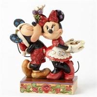 Disney Traditions Enesco Mickey And Minnie Figurine