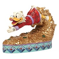 "Disney Traditions Enesco Scrooge Mcduck ""Treasure Dive"" Figure"
