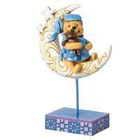 Disney Traditions Enesco Winnie The Pooh On The Moon Figure