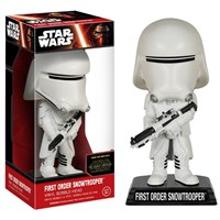 Funko Star Wars Ep7 First Order Snowtrooper Wacky Wobbler