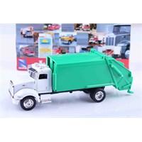Yeşil Çöp Arabası Die Cast Model Araç