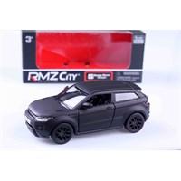 Mat Siyah Range Rover Evoque 1/36 Çek Bırak Die Cast Model Araç