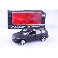 Mat Siyah Audi Q7 1/32 Çek Bırak Die Cast Model Araç