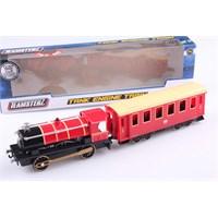 Sesli Ve Işıklı Motor Lokomotifli 1/55 Diecast Tren Seti
