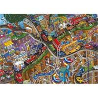 Dino Puzzle Crazy Ride (3000 Parça)