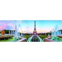 Dino Puzzle Wiev On Eiffel Tower (6000 Parça)
