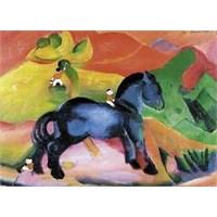 Piatnik Puzzle Art For Franz Marc Blaues Pfers (100 Parça)