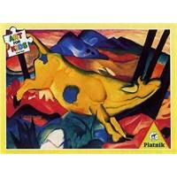 Piatnik Puzzle Art For Franz Marc Gelbe Kuh (100 Parça)